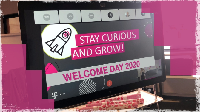 telekom welcome day 2020
